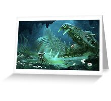 Exploring the Lost River Greeting Card