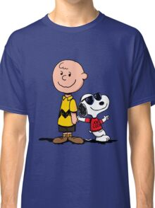 snoopy and charlie cool Classic T-Shirt
