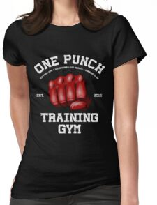 Kickboxing Womens Fitted T-Shirt