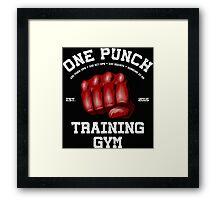 Kickboxing Framed Print