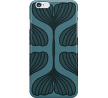 Ginkgo Nouveau- Teal iPhone Case/Skin