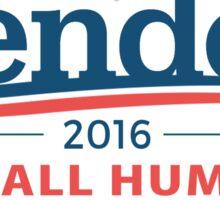 "Bender 2016 ""Kill All Humans"" White Sticker"