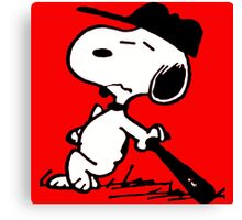 snoopy bored Canvas Print