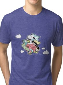 snoopy and friends Tri-blend T-Shirt