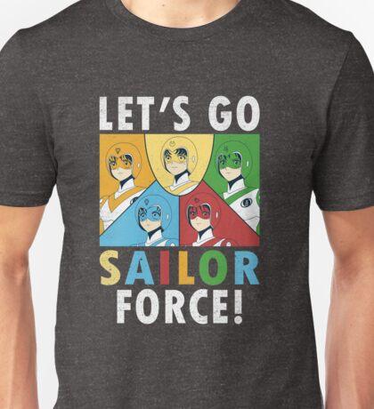 Let's Go Sailor Force Unisex T-Shirt