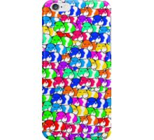 Mini rainbow hamster iPhone Case/Skin