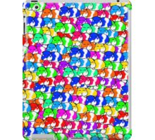 Mini rainbow hamster iPad Case/Skin