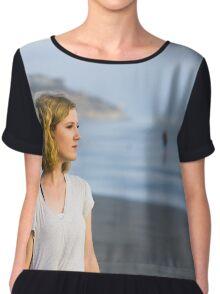 Beach Girl Chiffon Top