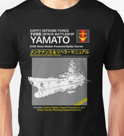 Battleship Yamoto Service and Repair Manual T-Shirt