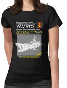 Battleship Yamoto Service and Repair Manual Womens Fitted T-Shirt