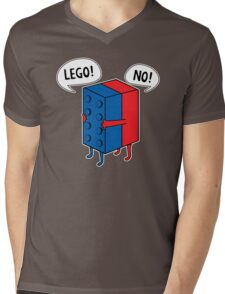 Lego No Mens V-Neck T-Shirt