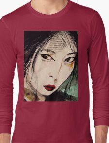 Chinese Beauty Long Sleeve T-Shirt