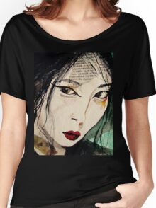 Chinese Beauty Women's Relaxed Fit T-Shirt