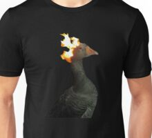 Flaming Duck meme Unisex T-Shirt