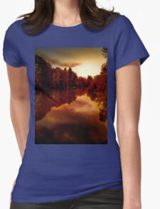 Red Dawn Womens Fitted T-Shirt