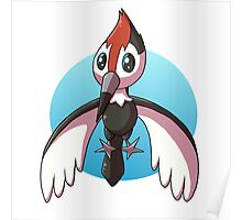 Pikipek Pokemon - Flying Poster