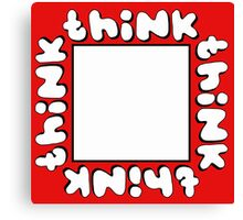 Think Outside the Box 2 Canvas Print