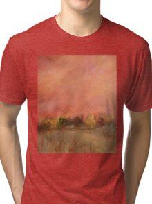 Salmon Sky Tri-blend T-Shirt