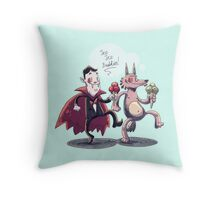 Ice Buddies Throw Pillow