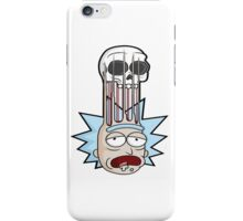 Rick And Morty illustrasion iPhone Case/Skin