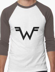 Weezer Logo Men's Baseball ¾ T-Shirt