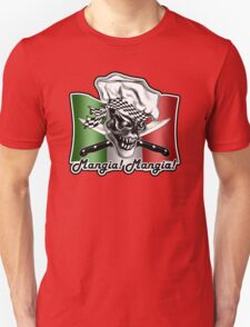 Italian Chef Skull 5: Mangia! Mangia! T-Shirt