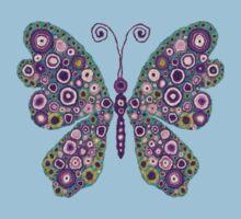 Artistic Butterfly Art Kids Tee