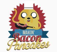 Makin Bacon Pancakes - Adventure Time Jake One Piece - Long Sleeve
