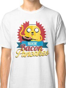 Makin Bacon Pancakes - Adventure Time Jake Classic T-Shirt