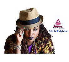 Shebeladyblue Photographic Print