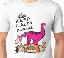 The Flintstones Dino and Fred Unisex T-Shirt