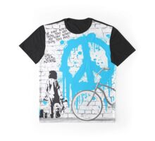 The Bondi Collection - Peace Graphic T-Shirt