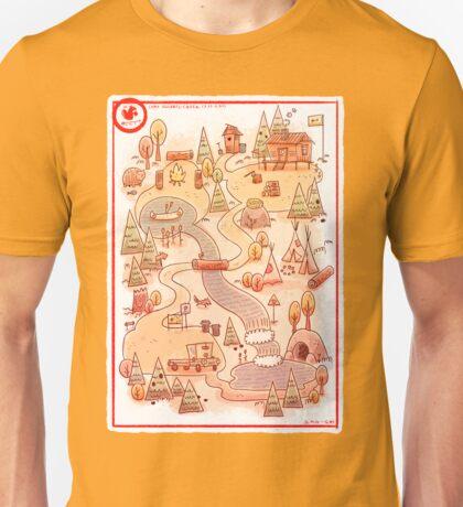Camp Squirrel-Creek Unisex T-Shirt