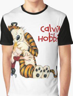 huggie Calvin And Hobbes Graphic T-Shirt
