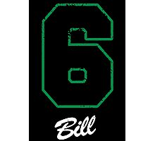 Number 6 - Bill Photographic Print