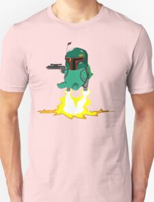 Bulba Fett (Star Wars and Pokemon Parody) T-Shirt