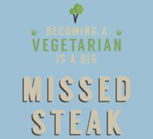 Missed Steak Kids Tee