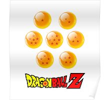 7 Dragon Balls Poster
