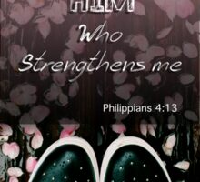 Ph 4:13 Sticker