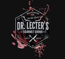 Dr Lecter's Gourmet Dining Unisex T-Shirt
