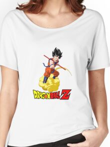 Dragon Ball Z - Son Goku with Kinton Cloud Women's Relaxed Fit T-Shirt