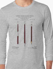 Pencil Set Patent Long Sleeve T-Shirt