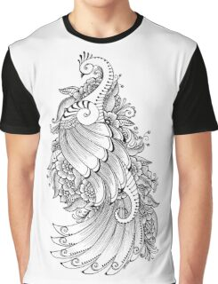 Peacock two Graphic T-Shirt