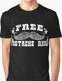 Mustache Rides Graphic T-Shirt