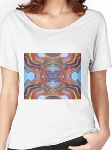 Drawn (Lace Agate) Women's Relaxed Fit T-Shirt