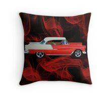 1955 CHEVROLET BEL AIR THROW PILLOW Throw Pillow