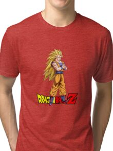 Dragon Ball Z - Super Saiyan 3 Goku Tri-blend T-Shirt