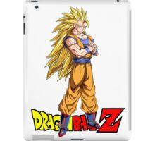 Dragon Ball Z - Super Saiyan 3 Goku iPad Case/Skin