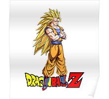 Dragon Ball Z - Super Saiyan 3 Goku Poster