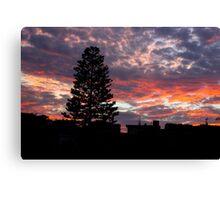 Electric Skies Canvas Print